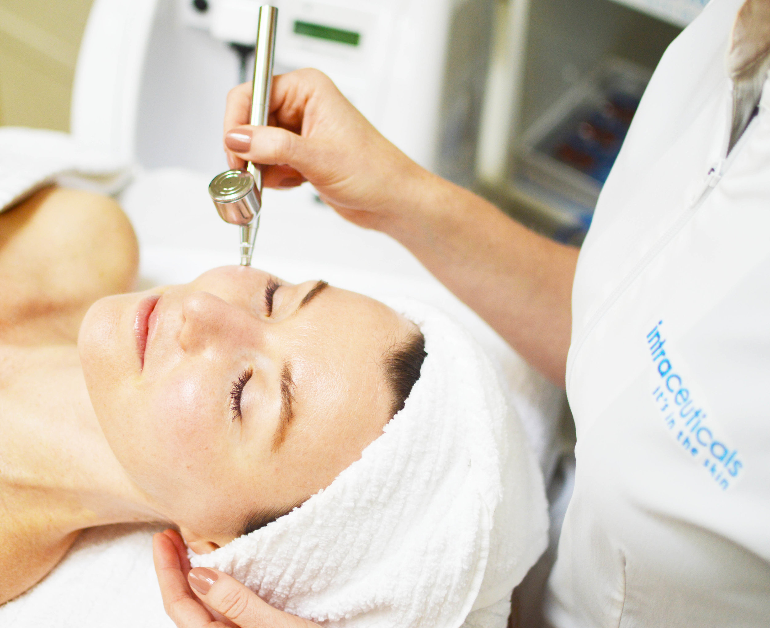 Intraceuticals Oxygen Infused Facials